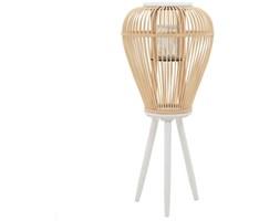 vidaXL Stojący lampion na świece, bambusowy, naturalny