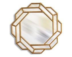 Lustro orientalne, złota rama.