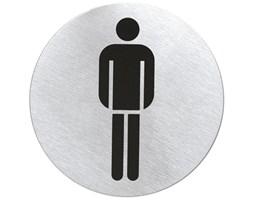 Szyld Matowy WC męskie