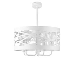 Lampa wisząca żyrandol MODUŁ FREZ V biały 39cm
