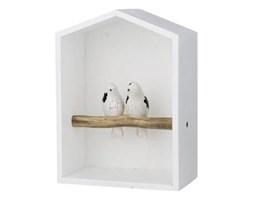Dekoracyjny karmnik dla ptaków PIPPA HAUSE  11x17x24cm , biały, Lene Bjerre