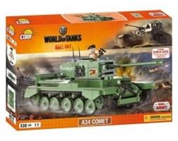 Cobi Armia World Of Tanks A34 Comet 3014