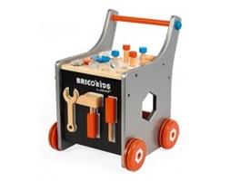 Janod Wózek warsztat magnetyczny z narzędziami Brico