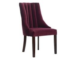 Drewniane tapicerowane krzesło do jadalni Margaret