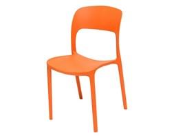 Krzesło do jadalni UFO pomarańczowe