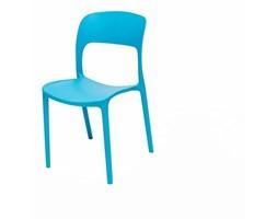 Krzesło do jadalni UFO niebieskie