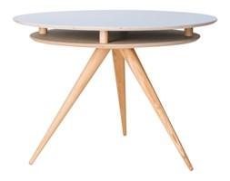 Okrągły stół do jadalni drewniany TRIAD - jesionowy