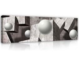 Obraz Szare figury geometryczne 3D PP10235O3