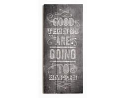 Obraz na drewnie Good things 42-243