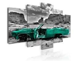 Obraz Zielone auto c-A-0065-b-n