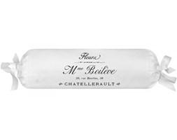 Poduszka dekoracyjna wałek French Home - Madame - biała