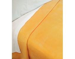 Narzuta Koc Piel - Plain 160x240 cm - żółta
