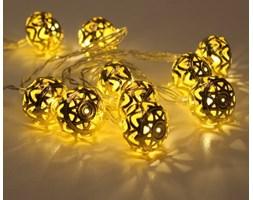 Lampki dekoracyjne LED z timerem - ORIENT 2 - złote