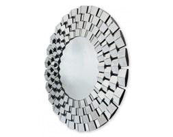 LUCIANO SOPRANI okrągłe lustro dekoracyjne w ramie lustrzanej 100x100
