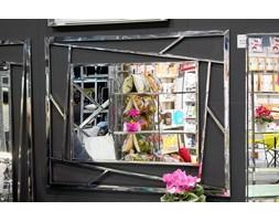 André Dior LUSTRO dekoracyjne glamour nowoczesne 100x120cm STAL NIERDZEWNA