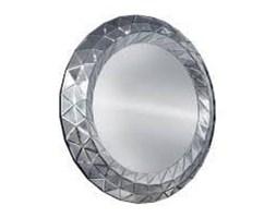 COMO Lustro w ramie lustrzanej okrągłe nowoczesne glamour 100x100