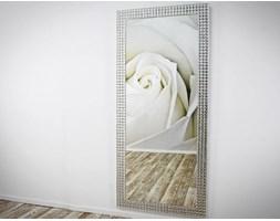 Lustro w Ramie Lustrzanej Amira Nowoczesne Glamour 80x180cm
