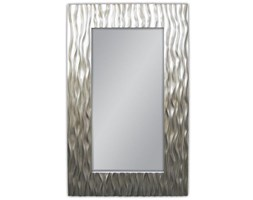 Dulal Lustro Srebrne Nowoczesne W Stylowej Ramie Glamour 100x160cm