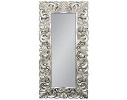 Srebrne Lustro w Stylowej Ramie Glamour 90x180cm