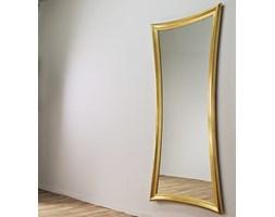 CUSTO BARCELONA Złote Lustro Dekoracyjne w Stylowej Ramie Glamour 90x197 cm