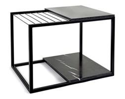 Stolik z gazetnikiem Serax Hang It 60 cm, czarny