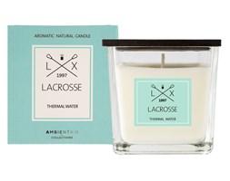 Świeca zapachowa Thermal water 8x8 cm - Lacrosse - DECOSALON - Zakupy bez ryzyka
