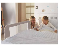 Noma Zabezpieczenie do łóżeczka, szare, 94283
