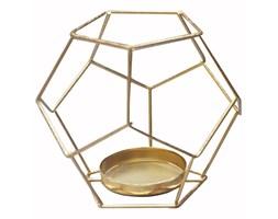 Świecznik metalowy geometryczny wz.2 Altom Design