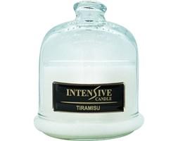 INTENSIVE COLLECTION 100% Soy Wax Premium Candle B1 Jar świeca zapachowa w szkle z kloszem 100% wosk sojowy - Tiramisu