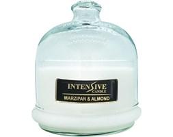 INTENSIVE COLLECTION 100% Soy Wax Premium Candle B2 Jar świeca zapachowa w szkle z kloszem 100% wosk sojowy - Marzipan & Almond