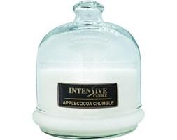 INTENSIVE COLLECTION 100% Soy Wax Premium Candle B2 Jar świeca zapachowa w szkle z kloszem 100% wosk sojowy - Apple Cocoa Crumble