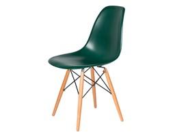Krzesło DSW Wood King Home myśliwski zielony kod: K-130.DAR.GR.34.DSW