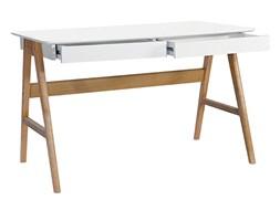 Biurko King Home Riva drewniane/białe kod: 9903