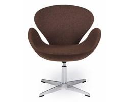 Fotel obrotowy 72x61,5x83cm King Home Swan brązowy kod: K-911D.SHO-24