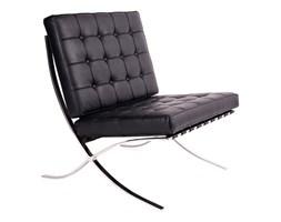 Fotel pikowany King Bath Barcelon czarny kod: T03-1.BLACK