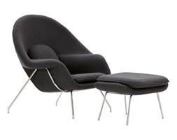 Fotel z podnóżkiem Snug szary kod: 5902385714631