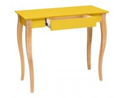 Biurko Lillo 3 rozmiary żółte
