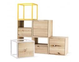 Półki Do Salonu Kolor żółty Wyposażenie Wnętrz Homebook
