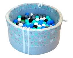 Suchy basen z piłeczkami dla dzieci BabyBall miętowe serduszka