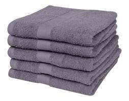 vidaXL Ręczniki, 5 szt,, bawełna, 500 g/m², 100x150 cm, antracytowe