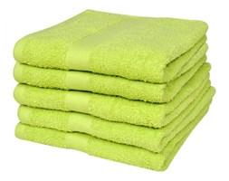 vidaXL Ręczniki, 5 szt., bawełna, 500 g/m², 100x150 cm, zielone