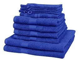 vidaXL Komplet 12 ręczników, bawełna, 500 g/m², szafirowy