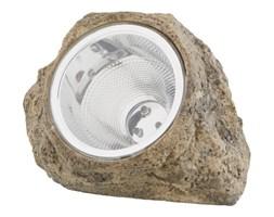 Lampa ogrodowa solarna LED 5000 K kamień