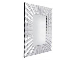 Galante prostokątne dekoracyjne lustro w lustrzanej ramie 120x80