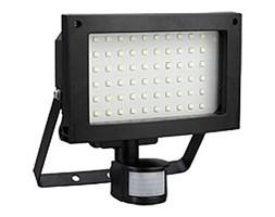 LED Reflektor zewnętrznyz PIR czujnikiem T275 60xLED SMD/12W IP44