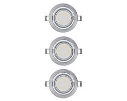 Osram - ZESTAW 3x LED Oprawa wpuszczana 3xGU10/3W/230V