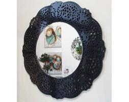 Orsini okrągłe lustro dekoracyjne w ażurowej ramie lustrzane 110x110