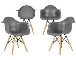 Krzesło nowoczesne FLORENCJA grafitowe - 4 szt. ( uniw)