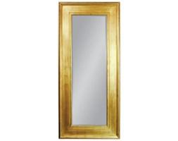 MUGLER Cologne Złote Lustro Dekoracyjne w Stylowej Ramie RETRO 80x180cm