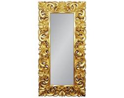 TESORI D'ORIENTE Złote Lustro Dekoracyjne w Stylowej Ramie Glamour 90x180cm